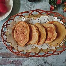 #健康低脂,选新良全麦自发粉#全麦小煎饼,5分钟快手早餐