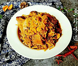 下饭菜之东北酸菜炖脊骨#给老爸做道菜#的做法