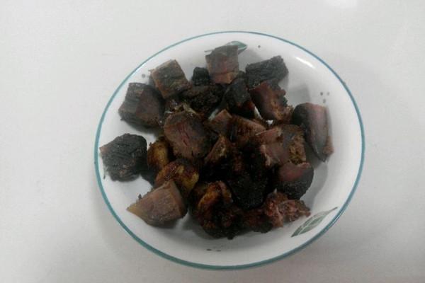 黑椒牛肉干的做法