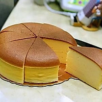 起司片棉花蛋糕 8吋無奶油、燙麵水浴烘烤(转载)的做法图解21