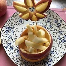 花樣切蘋果