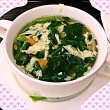 无油菠菜汤(肯德基芙蓉鲜蔬汤的味道)