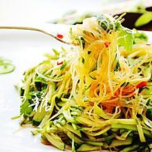 #花10分钟,做一道菜!#清凉解暑快手凉拌菜