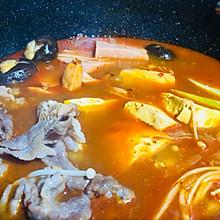 家庭自制泡菜火锅