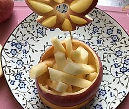花样切苹果的做法