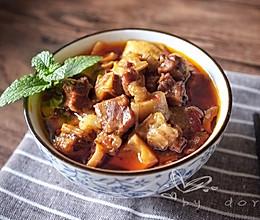 美味臊子-笋丁烧牛腩的做法