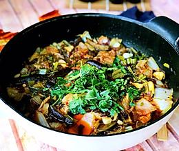 #冬天就要吃火锅#火锅版烤鱼的做法