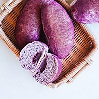 【不藏私食谱】不藏私教你做紫薯面包的做法图解14