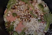 火腿蔬菜饭——1岁宝宝辅食的做法