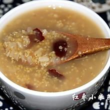 红枣小米燕麦粥