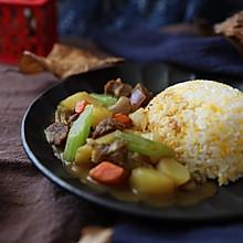 牛肉土豆咖喱饭