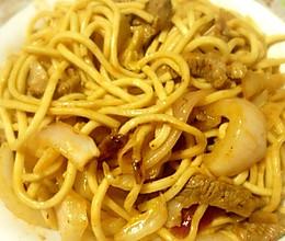 火夫炒面——清真口味的做法