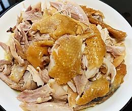 电饭煲盐焗鸡【手撕鸡】简易版的做法