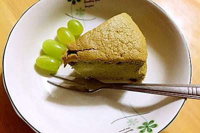 抹茶戚风蛋糕8寸