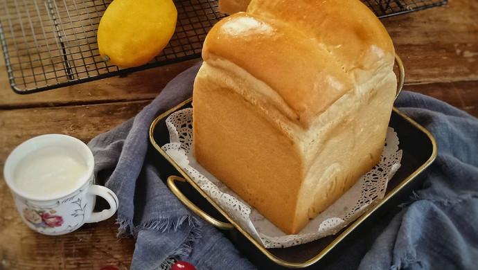 酸奶奶酪小吐司(一次发酵)