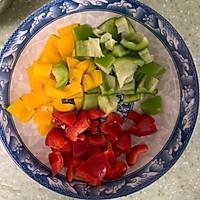 彩椒鸡丁#花10分钟,做一道菜!#的做法图解3