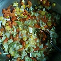 杂蔬鸡胸肉#低脂无油的做法图解3