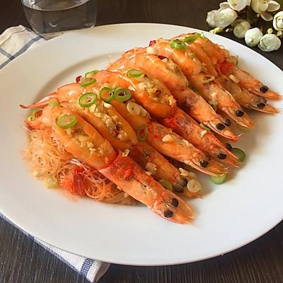 蒜蓉开片虾