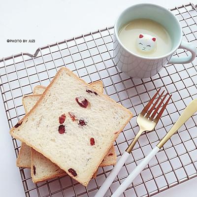 淡奶油蔓越莓土司