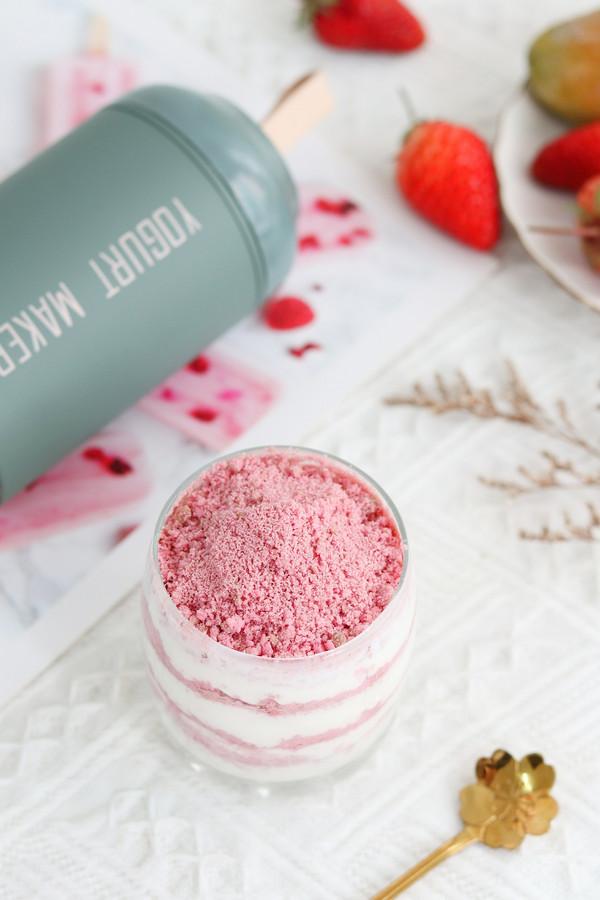 清爽夏日甜品,酸奶木糠杯(附带酸奶自制方法)的做法