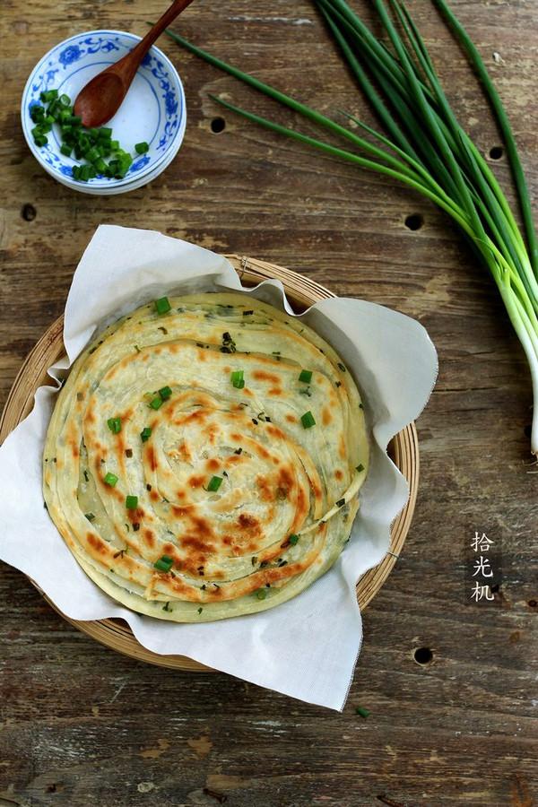 葱油饼:利仁电饼铛试用