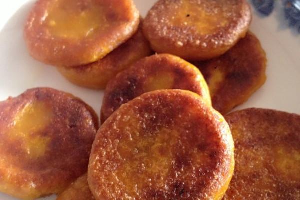 南瓜饼无糖的的做法