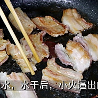 菜鸟易学美味的【五花肉烧香干】的做法图解5