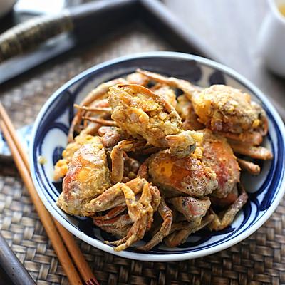 非油炸版金沙螃蟹