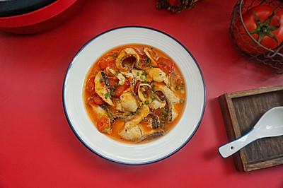 开胃营养补脑番茄鱼片