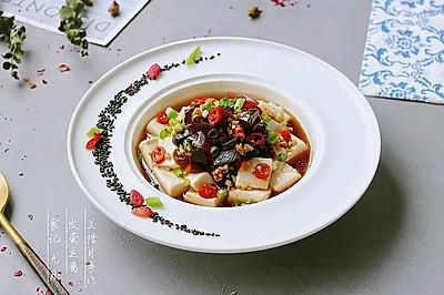 佐餐下酒大众冷菜——【皮蛋豆腐】