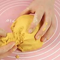 糯糯南瓜饼,非油炸的!的做法图解4