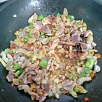 双椒爆炒鸡胗#金龙鱼外婆乡小榨菜籽油 最强家乡菜#的做法图解12