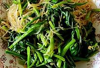 清爽开胃凉菜—菠菜拌粉丝的做法