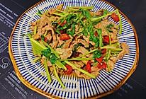 香菜小炒肉的做法