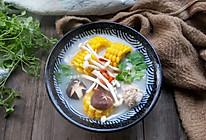 菌菇玉米排骨汤#春天肉菜这样吃#的做法