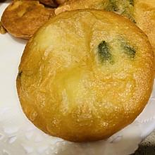 葱油饼(黄豆米浆版)