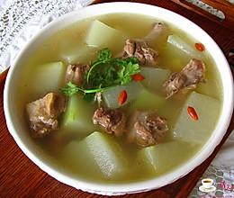 大暑时节的清补佳品---冬瓜老鸭汤的做法