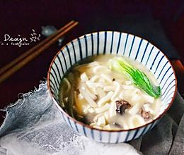 豆腐菌菇海参汤(一人份)的做法
