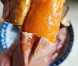 [烤箱版]烤红薯的做法