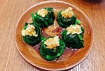 素食健康:凉拌菠菜球的做法