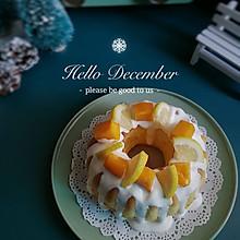 """#甜蜜暖冬,""""焙""""感幸福#奶油水果蛋糕"""