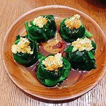 素食健康:凉拌菠菜球