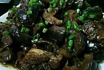 中翅焖花菇的做法