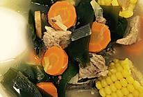 玉米海带排骨汤的做法