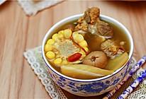 广东老火靓汤-虫草花干贝玉米汤的做法