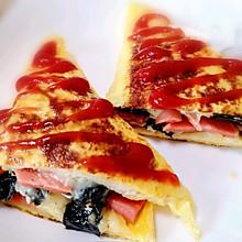 网红快手早餐——鸡蛋芝士吐司三明治
