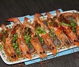 蒜蓉粉丝蒸大虾———简单的宴客菜的做法