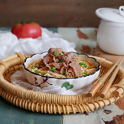 茄汁肥牛金针菇