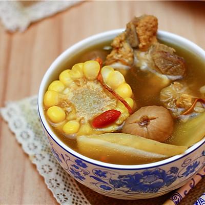 广东老火靓汤-虫草花干贝玉米汤
