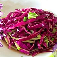 紫甘蓝拌黄瓜